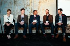 Interactive brand panel at Youth 100