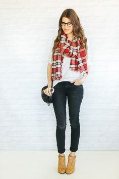 Unfancy Fall Wardrobe Capsule - 4.16 a print mixing recipe for fall