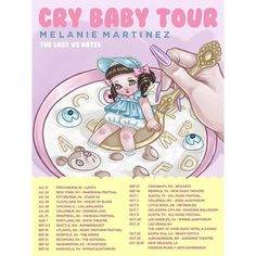 Final US Tour Dates for Cry Baby Tour! // Get your tickets early! <3<3 @brinnybunny