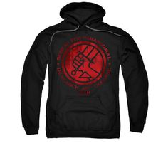 Hellboy BPRD Classic Logo Mens/Youth Pullover Hoodie