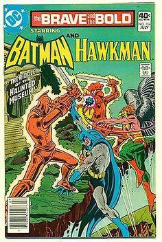 Brave and the Bold 164 NM- Batman & Hawkman 1980 DC Comics JLA teamup