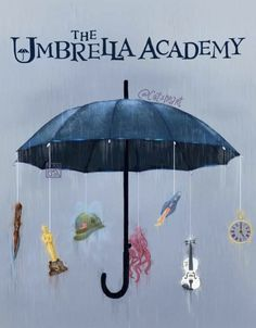 My new Fanart, what do you think? [Do not reupload without my permission😘] Funny Umbrella, Umbrella Art, Under My Umbrella, Robert Sheehan, Dysfunctional Family, Number 5, Netflix Series, Film Serie, Luther