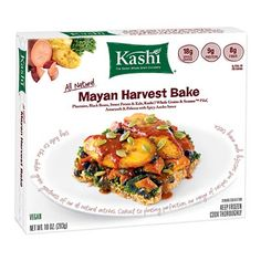 Kashi Mayan Harvest Bake: We taste-tested healthy frozen meals. Here are the freshest, healthiest and most appetizing microwavable dinners.