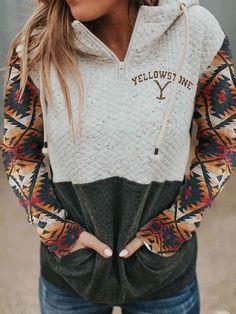 Long Sleeve Elastane Casual Hoodie Hoodies & Sweatshirts - Anniecloth