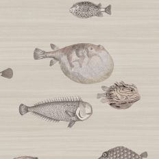 Papier peint - Cole and Son - Acquario - Soft Neutral
