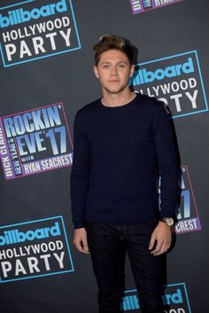 Niall on the New Years Rockin Eve Red Carpet 2017