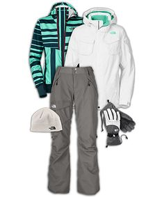 The North Face® Women's Snowboarding Outfit! want this...WANT that jacket!!