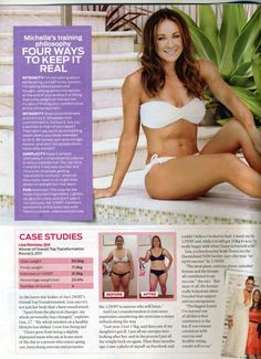 Michelle Bridges & 12WBT!! Stunning! Daily Workouts, Fitness Workouts, Fitness Motivation, Inspiration Board Fitness, Food Inspiration, Get Healthy, Healthy Life, Michelle Bridges 12wbt, The Time Is Now