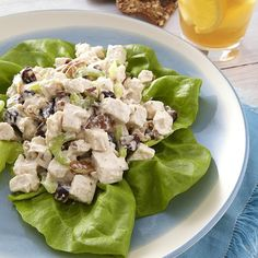 Chicken Salad with Pecans & Dried Cherries Recipe - EatingWell.com