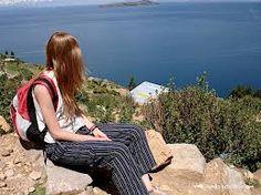 Resultado de imagen para imagenes de chica de viaje por grecia