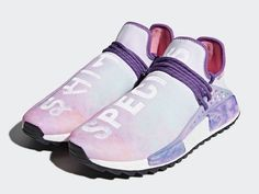 "b722bfbd8 Pharrell Williams x adidas NMD Hu Trail Holi ""Pink Glow"""