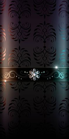 Wall paper phone art black Ideas for 2019 Royal Wallpaper, Black Phone Wallpaper, Rose Gold Wallpaper, Wallpaper Keren, Flower Phone Wallpaper, Luxury Wallpaper, Dark Wallpaper, Cellphone Wallpaper, Pattern Wallpaper