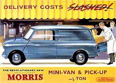 Morris Mini Van & Pick Up Poster.