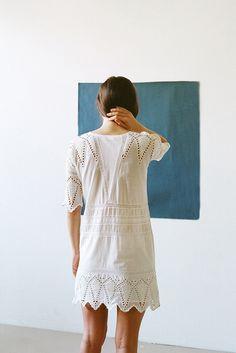 Ulla Johnson Lupe Dress in Pristine | Oroboro Store
