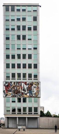 House of the Teachers. Former East-Berlin (Germany).