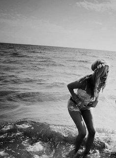 Summer girl.