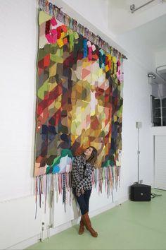 Dana Haim : Memorial Quilt for Wielden Kennedy London