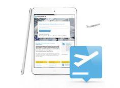 Responsive website over alle vliegvelden van Europa. Goed voorbereid op reis? www.vliegveldinfo.nl