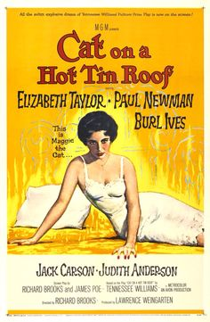Cat On A Hot Tin Roof(1958) 8/10 - 2/17/15