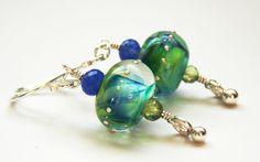 Good Green Earth Earrings -SOLD-