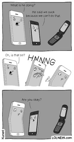 Just saw this on my FB newsfeed. Smartphones.