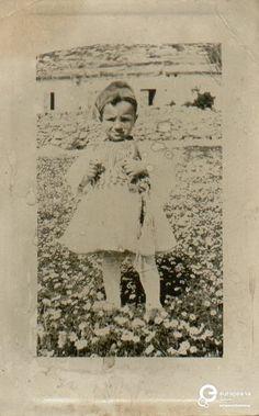 Trikala, Greece.  A B/W photo of a little boy in fustanela costume.  Ημερομηνία Δημιουργίας: 1926.  Συλλέκτης: Peloponnesian Folklore Foundation Ίδρυμα: Europeana Fashion