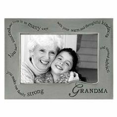Wavy Words For Grandma . Pewter Frame By Malden - Photo Arrangement, Custom Framing, Framed Artwork, Making Out, Picture Frames, Letters, Salama, Words, Framed Pictures