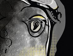 """Check out new work on my @Behance portfolio: """"moon"""" http://be.net/gallery/36949597/moon"""