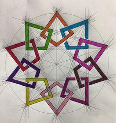 Home - School of Islamic Geometric Design - Huda Al-Hunaidi Sacred Geometry, Geometry Art, Geometric Drawing, Islamic Art Pattern, Art, Abstract, Prints