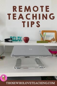 Remote teaching ideas for 1st grade and kindergarten. Tips on how to set up your remote teaching home office, and activities to engage your students. Distance learning schedule and online teaching resources. Online teaching resources for literacy, and social emotional learning. Tips to build community with your class while teaching remotely. #remoteteachingtips #thosewholoveteaching Teaching Plan, Teaching Tips, Learning Resources, The Last Lesson, Character Education Lessons, Kindness Activities, Classroom Expectations, Technology Lessons, French Class