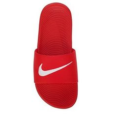 huge discount c7bda 636d2 Nike Kawa Slide Sandal Pre Grade School University Red Claquettes,  Accessoires, Sandales,