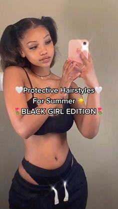 Black Girl Braids, Braids For Short Hair, Braided Hairstyles For Black Women, Curly Hair Tips, Girls Braids, Braided Hairstyles For Wedding, Baddie Hairstyles, Braids Hairstyles Pictures, Summer Hairstyles For Medium Hair