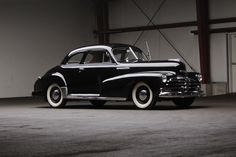 1948 Chevrolet Stylemaster Club Coupe. How cool would you feel in that?!?