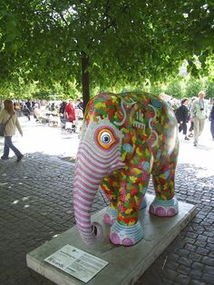 Elephant...  Elephant Parade invades Copenhagen – open air exhibition in aid to the Asian elephant