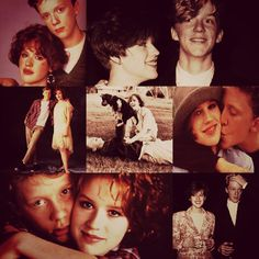Molly Ringwald & Anthony Michael Hall - I did not know they started dating on the set of The Breakfast Club. 80s Movies, Movie Tv, Drive Thru Movie, Anthony Michael Hall, Molly Ringwald, Brat Pack, Guys And Dolls, Tina Fey, Young Actors
