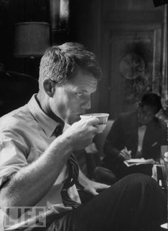 "RFK. ""When he shall die take him and cut him out into stars and he shall make the face of heaven so fine that all the world will be in love with night and pay no worship to the garish sun."""