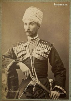 Circassian officer of the Ottoman army. Photo by Pascal Sabah at the end of the 19th century / Черкесский офицер Османской армии. Фото Паскаля Сабаха конца 19 века.