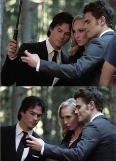 The end is coming TVD S8 ian somerhakder paul wesley candice accola