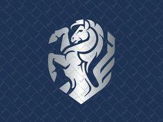 Animal ogos for sale 2 on Behance Leader Logo, Chess Logo, Fantasy Logo, Unicorn Logo, Horse Logo, Badge Logo, Symbol Design, Great Logos, Best Logo Design