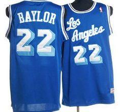 91f9c90aa41 Los Angeles Lakers Jersey 22 Elgin Baylor Blue Swingman Throwback Jerseys  Throwback Nba Jerseys