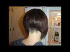 Women's Short Spunky Haircut Feather styling Razor - YouTube