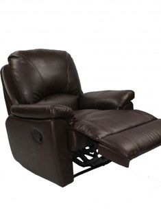 brown leather electric recliner chair  sc 1 st  Pinterest : harveys recliner chairs - islam-shia.org