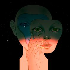 "Un Vide Dans Un Catalyseur — Artist & Illustrator: Kristina Collantes ""First..."
