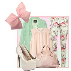 """""""Candy Floss"""" by shroukin on Polyvore  absolutley adorable!"""