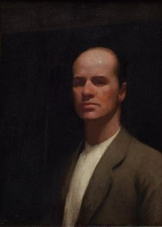 Self portrait, (1922) by Percy Leason :: The Collection :: Art Gallery NSW