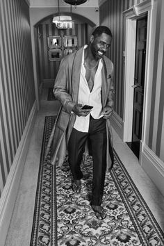 Grab a Glass of Water; This Idris Photo Will Give You Such Thirst