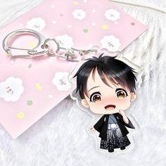 0.96$  Buy here - New  Anime Yuri!!! on Ice Keychain Victor Nikiforov Yuri Katsuki Pendant Keyring Cute Character Figure Phone Bag Charm   #buychinaproducts