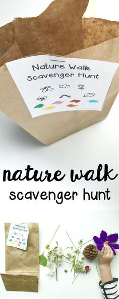 Walk Scavenger Hunt - I Can Teach My Child! Nature Walk Scavenger Hunt: Such a fun outdoor activity for toddlers and preschoolers!Nature Walk Scavenger Hunt: Such a fun outdoor activity for toddlers and preschoolers! Toddler Fun, Toddler Preschool, Toddler Crafts, Preschool Crafts, Baby Crafts, Fun Crafts, Outdoor Activities For Toddlers, Nature Activities, Fun Activities For Preschoolers
