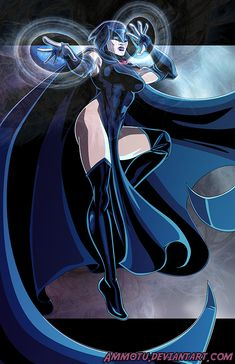 R - is for Raven by Ammotu on DeviantArt Comic Movies, Comic Books Art, Comic Art, Raven Fanart, Raven Beast Boy, Female Comic Characters, Character Art, Character Design, Dc Comics Girls