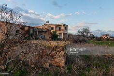 Nature covers the abandoned houses of the Varosha quarter on January 5, 2017 in Famagusta, Cyprus. Prior to the Turkish invasion of Cyprus in 1974, the abandoned quarter of Varosha was the modern tourist area of the city, and one of the most important tourist destinations in the world.